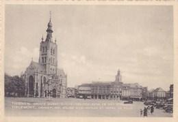 Tienen, Thienen, Grote Markt O.L.V Ten Poelkerk En Het Stadhuis (pk47958) - Tienen