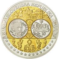 Slovaquie, Médaille, L'Europe, Aurel Stodola, 2009, SPL+, Argent - Other