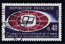 - A .1967 - OBL. - Y.T. N° 1515 -  3° CONGRES DE RADIODIFFUSION   - - France