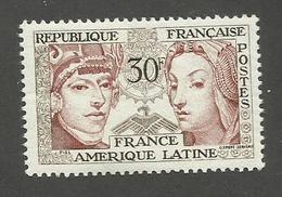FRANCE - N°YT 1060 NEUF* AVEC CHARNIERE - COTE YT : 1.60€ - 1956 - France