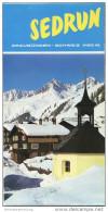 Sedrun 1970 - Faltblatt Mit 32 Abbildungen - Schweiz