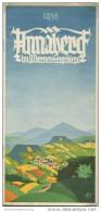 Annaberg Im Erzgebirge 1936 - 8 Seiten Mit 11 Abbildungen - Saxe