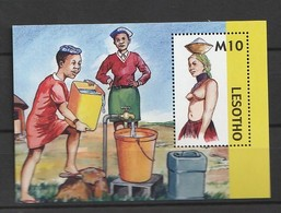 Lesotho 2006, Head Covering S/s Mnh - Lesotho (1966-...)