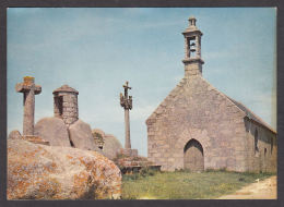 65070/ BRIGNOGAN, La Chapelle Pol Avec Son Calvaire Et La Tour De Guet - Brignogan-Plage
