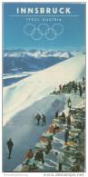Innsbruck 1964 - Faltblatt Mit 9 Abbildungen - Oesterreich