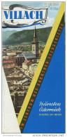 Villach 1964 - Faltblatt Mit 16 Abbildungen - Hotelplan - Oesterreich