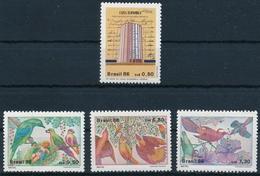 2191-2194 Serie Einwandfrei Postfrisch/** Mit Originalgummi Ohne Falz Oder Falzspur - Brésil