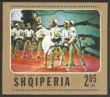 Albania 1976 Mi# Block 61 ** MNH - Scenes From Ballet Mountain Girl - Albania