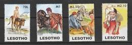 Lesotho 2006 Young Herdsmen 4v Mnh - Lesotho (1966-...)