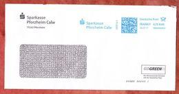 Brief, FRANKIT Francotyp-Postalia 3D060.., Sparkasse Pforzheim Calw, 70 C, 2017 (53203) - BRD