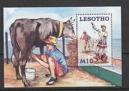 Lesotho 2006 Young Herdsmen S/s Mnh - Lesotho (1966-...)