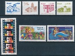 Brasilien - 2195-2201 Serie Einwandfrei Postfrisch/** Mit Originalgummi Ohne Falz Oder Falzspur - Brésil