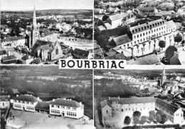 BOURBRIAC -  Vue Aerienne En  4 Multivues - France