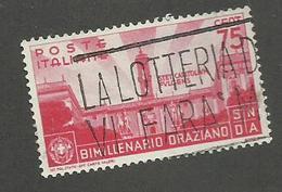 ITALIE - N°YT 382 OBLITERE - COTE YT : 4€ - 1936 - 1900-44 Vittorio Emanuele III