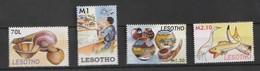 Lesotho 2006 Handicrafts 4v Mnh - Lesotho (1966-...)