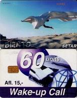 TARJETA TELEFONICA DE ARUBA. SETAR-107D, BIENTO 01.98 (014) - Aruba