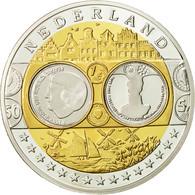 Pays-Bas, Médaille, L'Europe, Reine Béatrix, SPL+, Argent - Pays-Bas