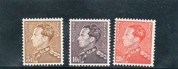 BELGIEN 1950-1 ** - Neufs