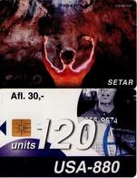 TARJETA TELEFONICA DE ARUBA. SETAR-108B, SOLO 10.97 (015) - Aruba