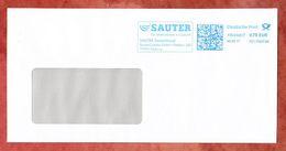 Brief, FRANKIT Neopost 1D110.., Sauter Freiburg, 70 C, 2017 (53219) - BRD