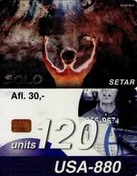 TARJETA TELEFONICA DE ARUBA. SETAR-108C, SOLO 01.98 (016) - Aruba