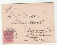 1915 AUSTRIA Cover UBERPRUFT WIEN CENSOR LABEL On  The Back  Censored Stamps - 1850-1918 Empire