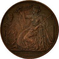 Belgique, Médaille, 25 ème Anniversaire Du Roi Léopold Ier, 1856, TTB, Cuivre - Autres