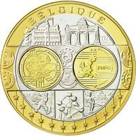 Belgique, Médaille, L'Europe, SPL+, Argent - Belgique