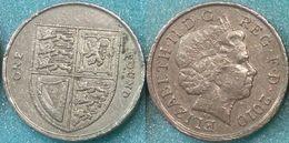 Great Britain UK 1 Pound 2010 VF - 1971-…: Dezimalwährungen