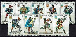 San Marino 1973 // Mi. 1046/1054 ** (024..522) - Ungebraucht
