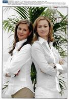 FESTIVAL TV  DE MONTE CARLO -  11/06/2007 - FRANCOISE JOLY & GUILAINE CHENU - Berühmtheiten