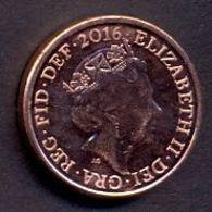 Great Britain UK 1 Penny 2016 UNC - 1971-…: Dezimalwährungen