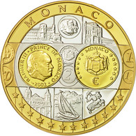 Monaco, Médaille, Europe, Rainier III, 2002, SPL+, Argent - Other