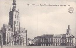 Tienen, Tirlemont, Eglise Notre Dame Au Lac Et Hôtel De Ville (pk49013) - Tienen