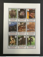Tanzania 1995** Klb.2046-54. Celebrate The Wild MNH [10;53] - Timbres