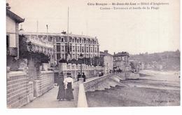 Saint Jean De Luz - Hôtel D ' Angleterre , Casino,terrasses Et Bords De La Plage - Saint Jean De Luz