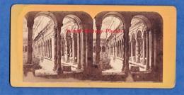 Photo Ancienne Stéréo - Vers 1870 1880 - ROME / ROMA - Cloitre Saint Paul - Photographe à Identifier - Italia San Paolo - Stereoscopic