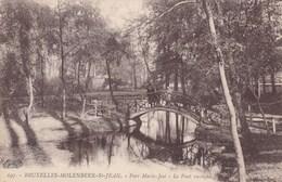 Bruxelles, Molenbeek St Jean, Parc Marie José, Le Pont Rustique (pk49037) - Molenbeek-St-Jean - St-Jans-Molenbeek