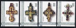 GEORGIA 2002 Pectoral Crosses Set Of 4    MNH / ** - Georgien