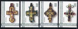 GEORGIA 2002 Pectoral Crosses Set Of 4    MNH / ** - Georgia