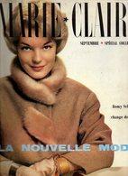 Marie-Claire N°47 Romy Schneider (Sissi) Change De Visage à Paris - Supplément 100 Idées Le Marie-Claire De Votre Sac... - Fashion