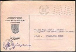 France Rouffach 1978 / Ville De Rouffach / Coat Of Arms - 1961-....