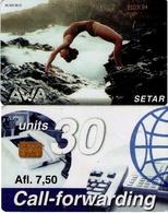 TARJETA TELEFONICA DE ARUBA. SETAR-106C, AWA 01.98, (019) - Aruba