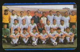 Hungary 1977  Football, Soccer: Football Team Raba ETO - Calendars