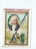Chromos - Biographie Parmentier - Montdidier - Pommes De Terre - Phares De La Bastille - Habillement - Old Paper
