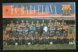 Ukraine 1992  Football, Soccer: Football Team FC Barcelona - Calendars