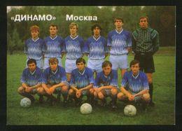 Russia USSR 1992  Football, Soccer: Football Team Dynamo Moscow - Calendars