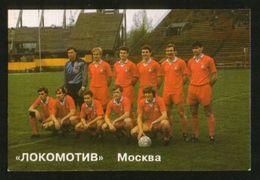 Russia USSR 1992  Football, Soccer: Football Team Locomotive Moscow - Calendars