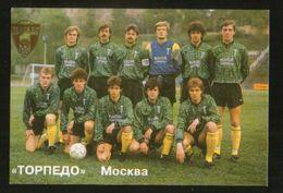 Russia USSR 1992  Football, Soccer: Football Team Torpedo Moscow - Calendars