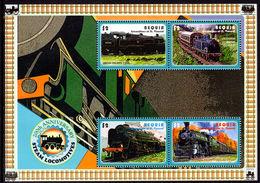 Bequia 2004 Trains British Railways Souvenir Sheet Unmounted Mint. - St.Vincent & Grenadines